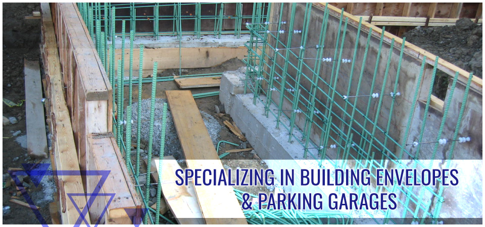Specializing in Building Envelopes & Parking Garages -formwork
