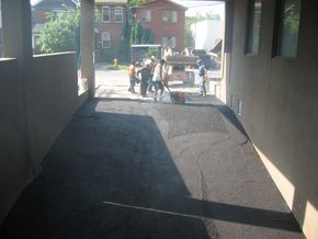 mastic and ramp repair
